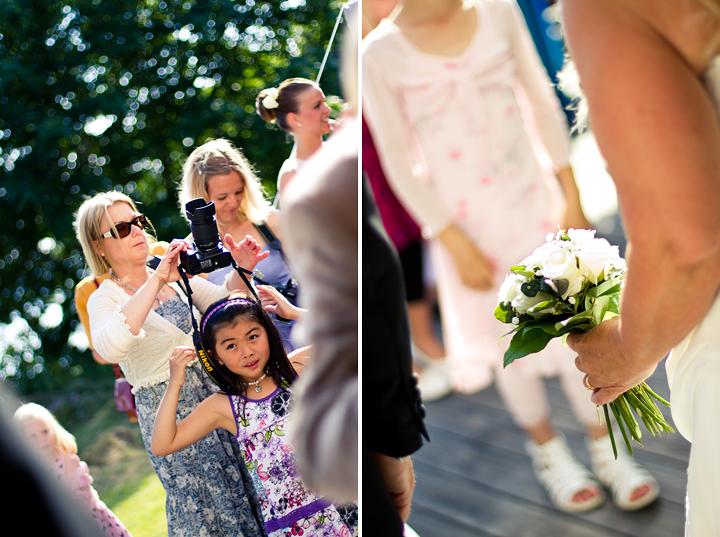 Vigselgratulationer Bröllopsbukett