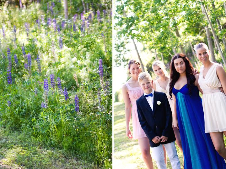 Bröllopsfotograf gruppfoto