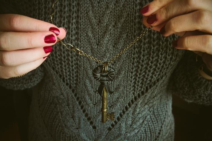 Halsband Nyckel