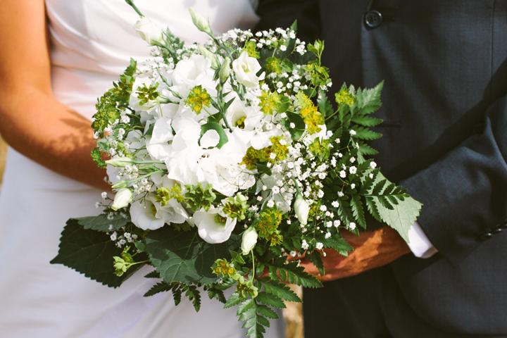 Fotografering i Köping, bröllopsbukett