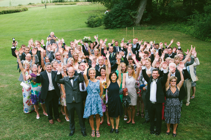 Bröllop gruppbild