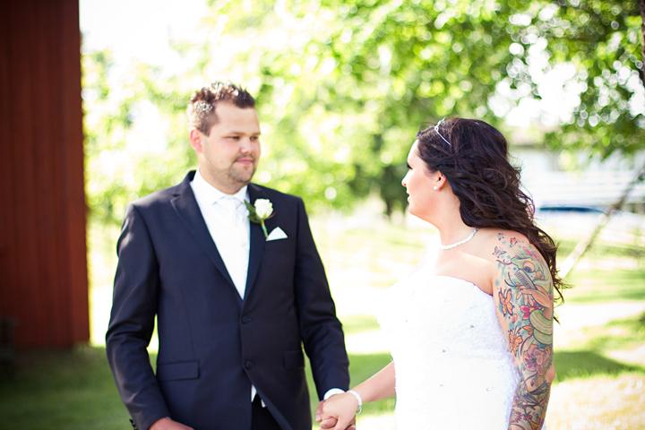 Fotografering bröllop Karlskoga hembygdsgård