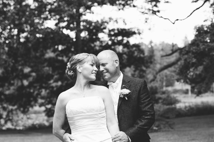 Bröllopsporträtt vid Svartå Herrgård