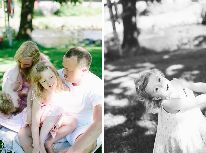 Fotografering familj Örebro län
